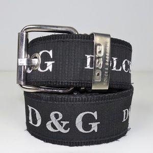 Dolce & Gabbana Mens Cargo Belt
